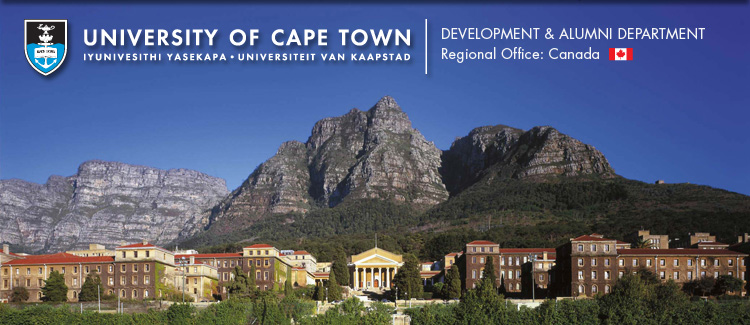 University of Cape Town, Regional Office Canada