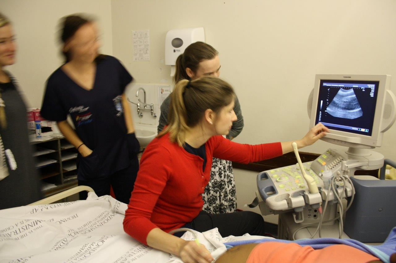 UCT in Eden - ultrasound